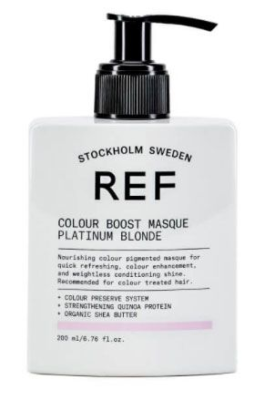 REF Colour Boost Masque 200ml Platinum Blonde
