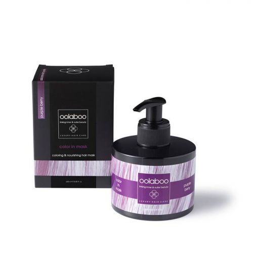 Oolaboo Color In Mask 250ml Purple Berry